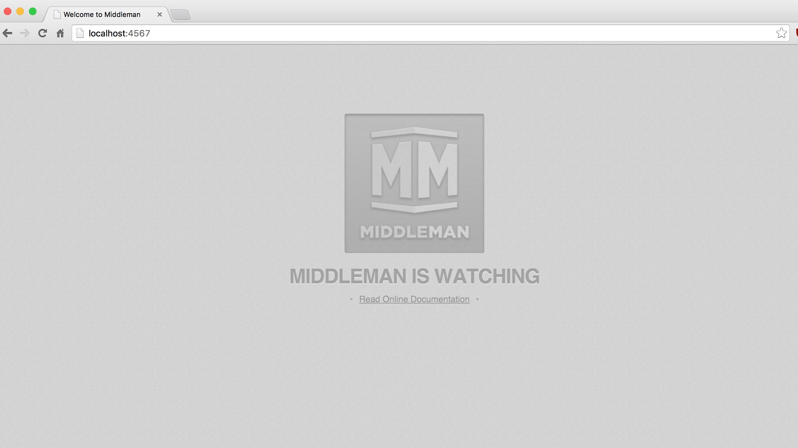 New Middleman Project